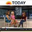 "Carla Bruni y su look en ""Today Show"" para el Daily Outfit de Revista WAPA"
