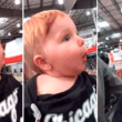 Facebook: Mira la adorable reacción de este bebé al ver adornos navideños [VIDEO]