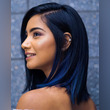 Blue balayage: La colorida alternativa que te dará un look de fantasía [Fotos]