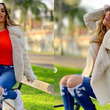 Ethel Pozo se declara fan del animal print con estos looks infalibles para combatir el frío