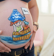 "NO DEJES DE LEER: Belly painting: la nueva tendencia para embellecer tu ""baby bump"" [FOTOS]"