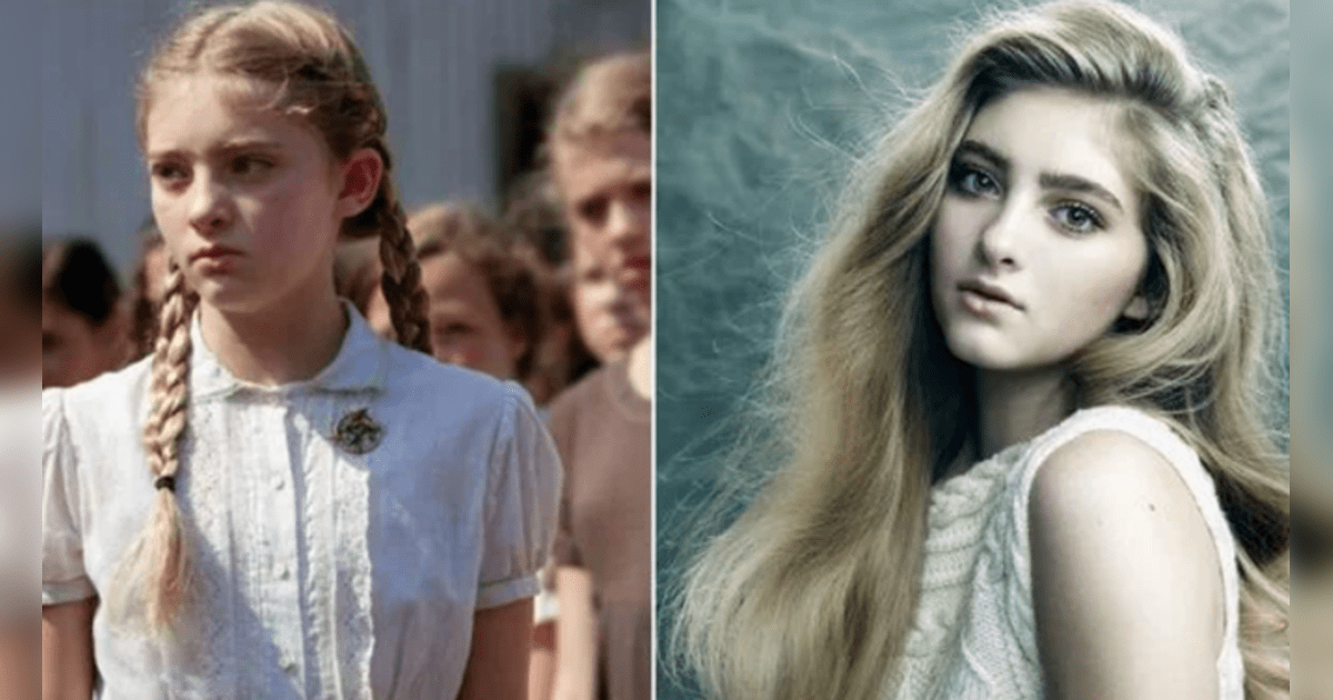 Willow Shields interpretó a Primrose Everdeen