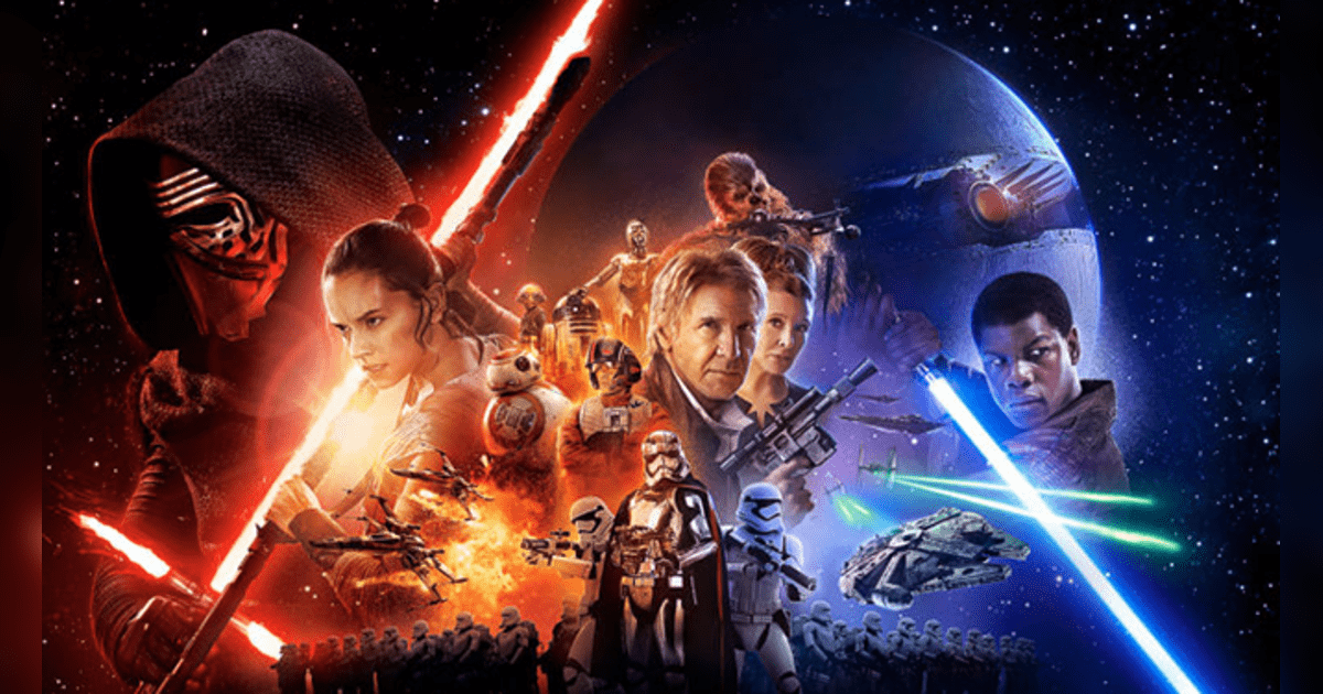 Star Wars: The Force Awakens llegó a recaudar alrededor de $2,068.2