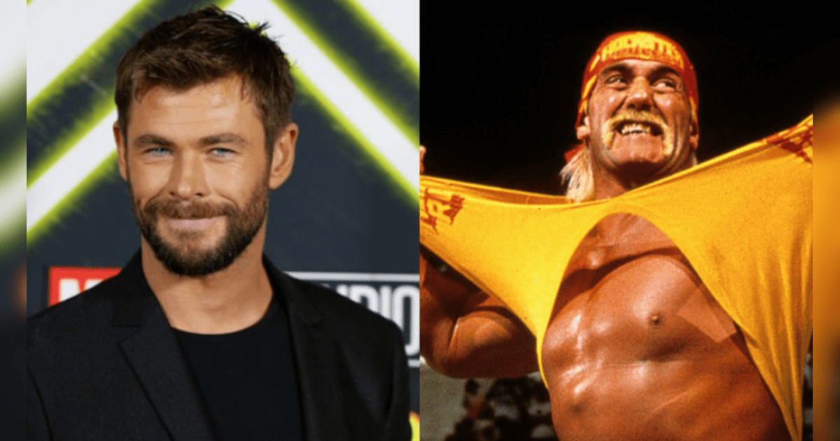 Chris Hemsworth interpretará a Hulk Hogan en un filme biográfico.