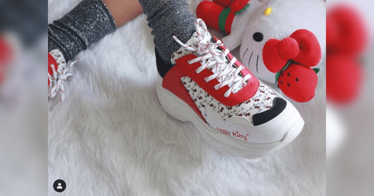 Fotogalería: Hello Kitty en chunky shoes. (Foto: Instagram 6 de 8)