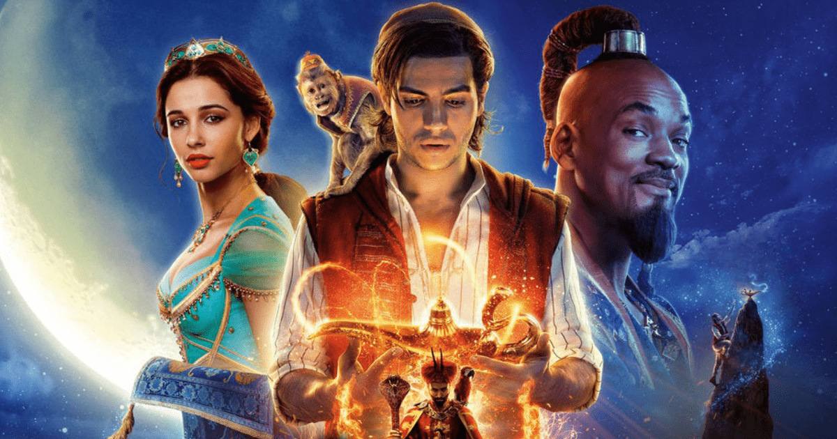 Aladdin tendrá secuela y estarán en la película Will Smith, Mena Massoud, Naomi Scott.
