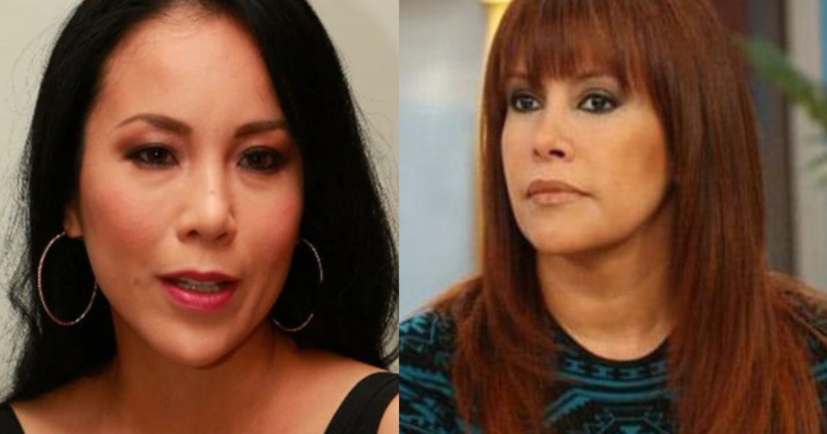 Patty Wong demandará a Magaly Medina.