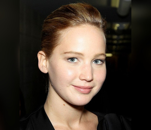 "Jennifer Lawrence optó por el maquillaje natural para el estreno de ""The Great Gatsby"""
