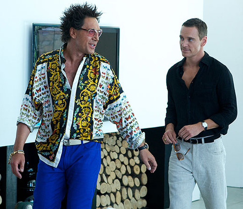 "Javier Bardem y su llamativo look en la cinta ""The Counselor"""