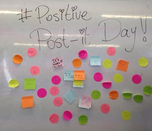 Positive Post-it para alegrarte el día