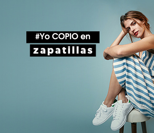 Yo COPIO en zapatillas [FOTOS Y VIDEOS]