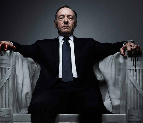 Netflix cancela serie 'House of Cards' tras acusaciones de acoso sexual por parte de Kevin Spacey