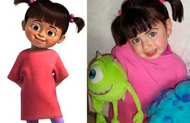 ¡Encontramos a Boo de Monster Inc!
