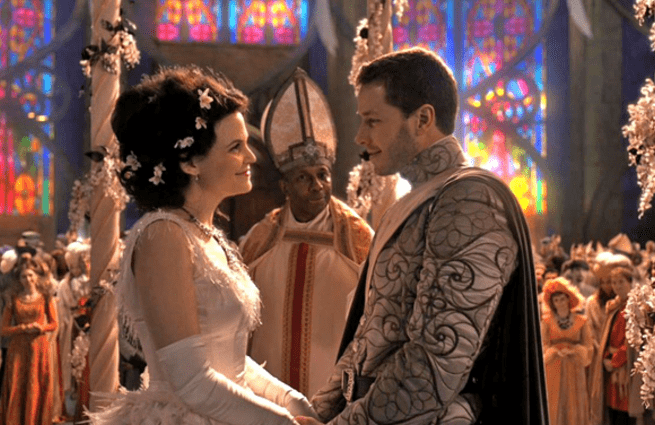 Ginnifer Goodwin y Joshua Dallas - Once Upon a Time