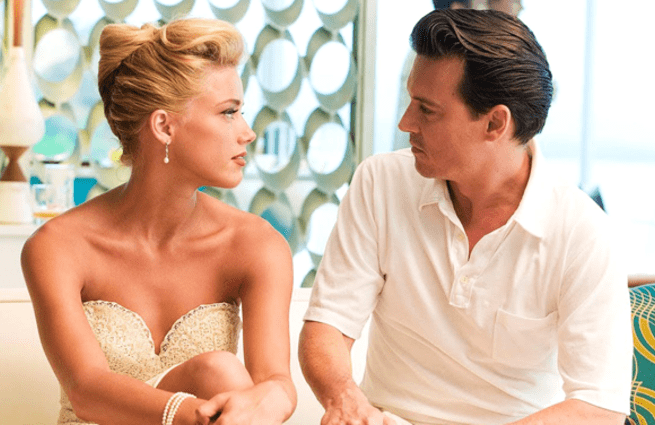 Amber Heard y Johnny Depp - Diario de un seductor