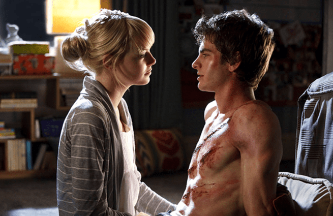 Emma Stone y Andrew Garfield - Spiderman