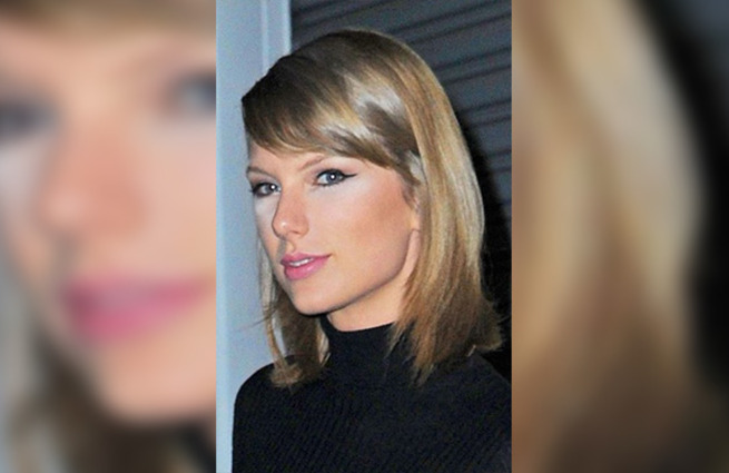 Taylor Swift Fuente: Maquillaje