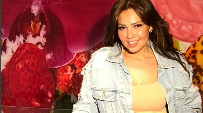 Thalía enamora a sus fans con sensual video /Captura de Instagram