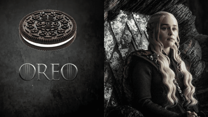 Oreo lanza galleta inspirada en Game Of Thrones (Fuente: Redes Sociales)