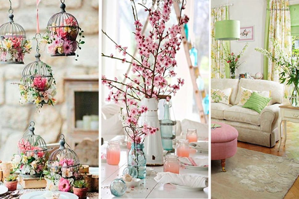 Primavera 2015 novedosas ideas para decorar y dejar lindo for Articulos para decorar salas
